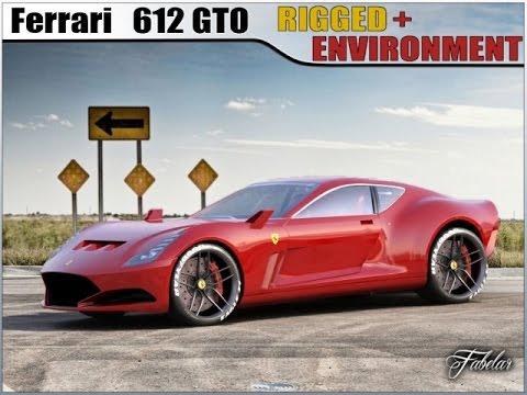 2018 ferrari 612 gto. perfect ferrari 3d model ferrari 612 gto concept at 3dexportcom intended 2018 ferrari gto