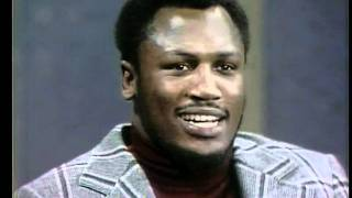 Joe Frazier on Dick Cavett Show (1973)