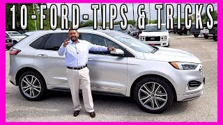 10 Ford Tips And Tricks You Might Not Know!