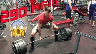 290 кг СТАНОВАЯ. Новые результаты. | Дэвид Лейд