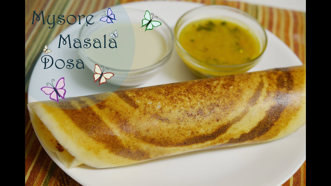 Mysore masala dosa meghas cooking channel episode 72 youtube forumfinder Choice Image