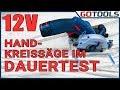 BOSCH 12 Volt Akku Handkreissäge GKS 12V 26 im Dauertest! - Wie lange hält der Akku durch?