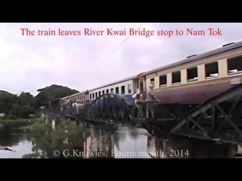 Kanchanaburi, and the River Kwai Bridge, the train journey there, Thailand. ( 12 )