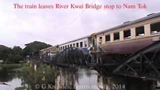 Kanchanaburi, and the River Kwai Bridge, the train journey there, Thailand. ( 12 )
