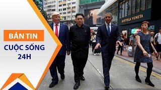 'Bản sao' Trump, Obama, Kim Jong-un náo loạn Hồng Kông | VTC1