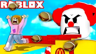 Roblox Escape McDonalds Obby With Molly!