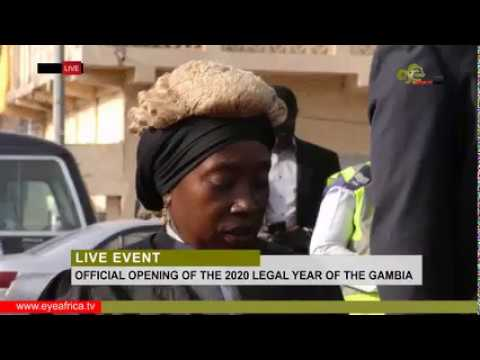 LIVE @ THE OFFICIAL OPENING OF THE 2020 LEGAL YEAR OF THE GAMBIA