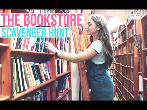 Bookstore Scavenger Hunt