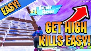 Get MORE KILLS In Fortnite EASY! Ps4/Xbox Fortnite Tips and Tricks! (How to Win in Fortnite Season 9