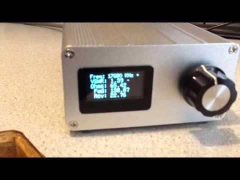 DIY No Frills Arduino Antenna Analyzer