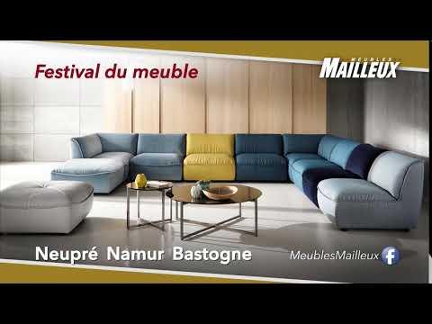Meubles Mailleux Festival Du Meuble Salon Canape Fauteuil Relax Youtube
