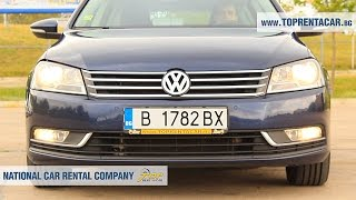 VW Passat Estate from Top Rent A Car Bulgaria - прокат автомобилей в Болгарии(The new VW Passat estate with manual transmission has elegant design and innovative features. It is very preferred by our customers. You can choose it for ..., 2016-05-14T12:22:55.000Z)