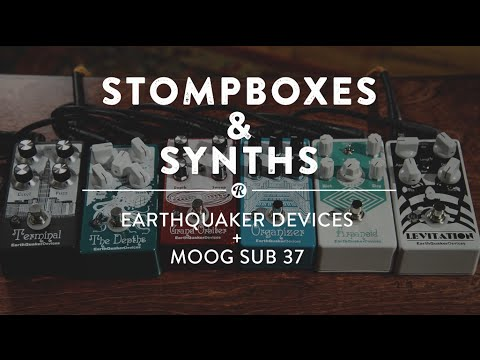 Stompboxes & Synths: Earthquaker Devices + Moog Sub 37