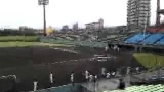 2011年10月25日。 第129回九州高校野球大会。ベスト4進出をかけた九州...