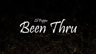 Lil Poppa - Been Thru Ft. Quando Rondo (Lyrics)