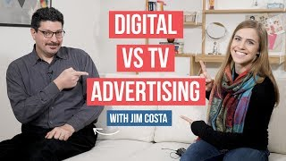 Differences Between Internet and Television Advertising | 31 Years Video Experience with Jim Costa