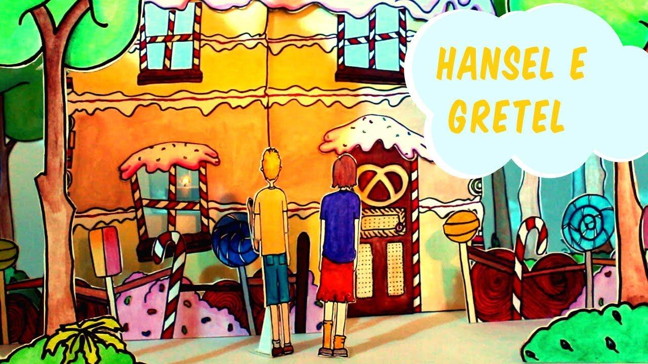 Favole per bambini la storia di hansel e gretel