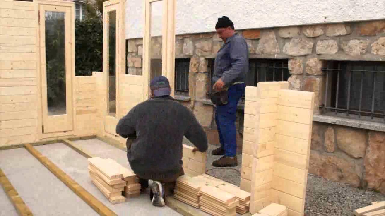 Ensamblaje de casas de madera en albacete ciudad real y for Casas de madera jardin leroy merlin