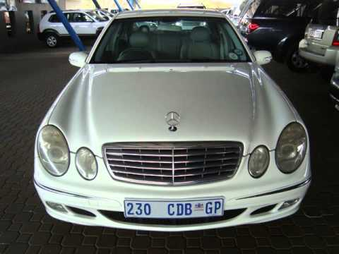 2002 mercedes benz e class e320 elegance a t auto for sale on auto trader south africa youtube. Black Bedroom Furniture Sets. Home Design Ideas