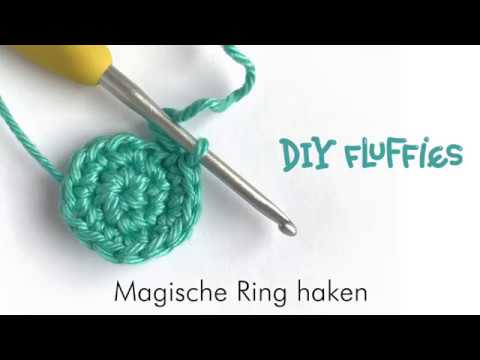 Magische Ring Haken Nederlands Youtube