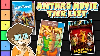 The BEST and WORST Anthro Movies Tier List