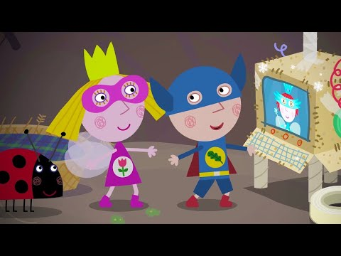 Ben And Holly's Little Kingdom 🌟 Superhero In Town | Cartoons For Kids