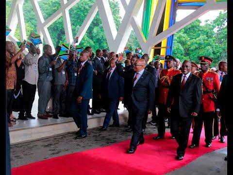 LIVE Kutoka Ikulu: Dhifa ya Taifa ya Rais Jacob Zuma
