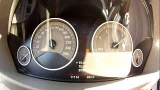 BMW 320d F30 0-160 km/h 160-0 km/h (TwinPower Turbo 4-Zylinder)