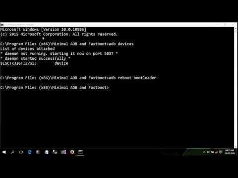 How to install Fastboot driver in windows
