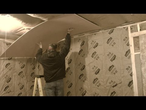 Shed Rebuild (pt10)   Interior Walls