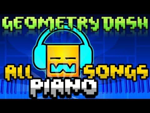 Geometry Dash All Songs - Piano (1-21)