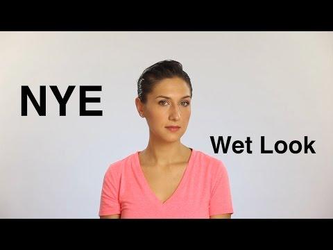 [Tutorial] NYE Wet Look (Coafura pentru Revelion)