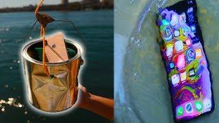 Ultimate iPhone XS Max Water Test - Secretly NOT Waterproof?