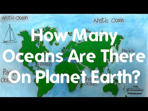 How Many Oceans Are There On Planet Earth