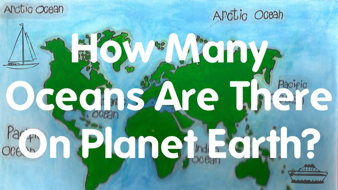How many oceans on Earth 78