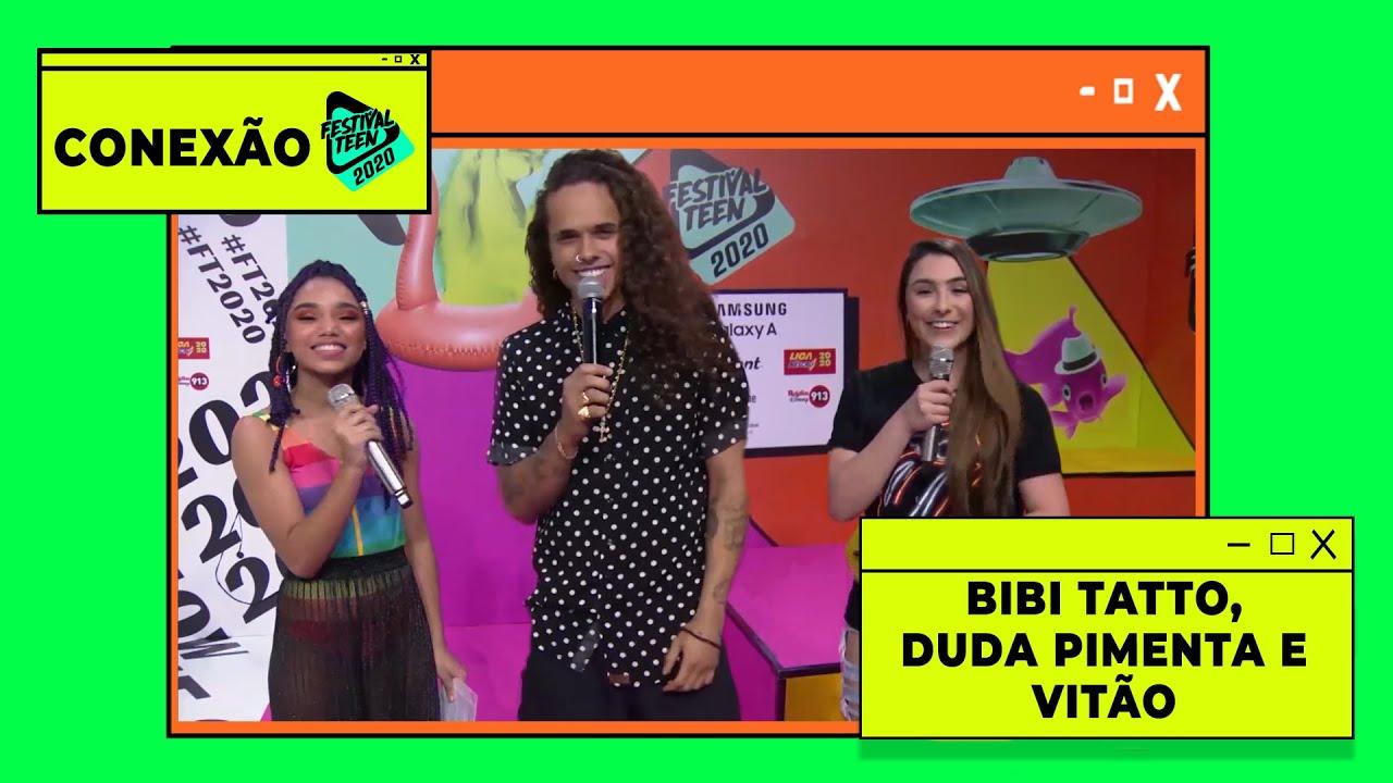 VITÃO canta CALIFÓRNIA pela primeira vez no FESTIVAL TEEN 2020 e revela seus FEATS DOS SONHOS