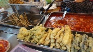 طعام الشوارع فى كوريا Korean street food