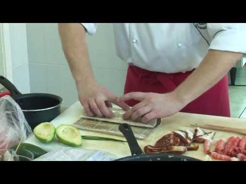 японская кухня дома рецепты видео-хв1