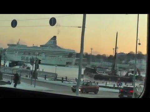 Amazing journey! (tram view in Helsinki)