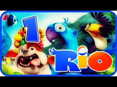 Rio Walkthrough Part 1 Movie Party Game Ps3 X360 Wii