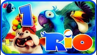 Rio Walkthrough Part 1 - Movie Party Game (PS3, X360, Wii) Story Mode 1: Moose Lake