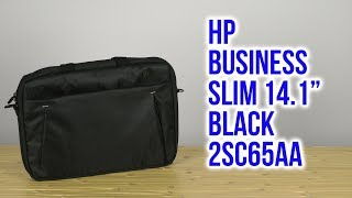Розпакування HP Business Slim 14.1'' Black 2SC65AA