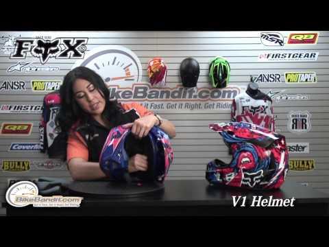 Fox V1 Helmet 2014 at BikeBandit.com