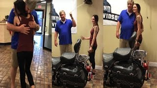 Daughter Buys Father a Motorcycle