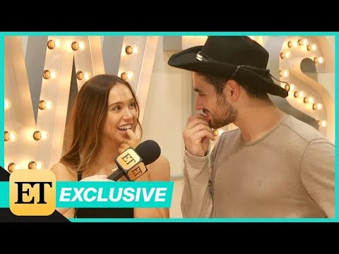 DWTS: Alexis Ren and Alan Bersten Reveal Dream Dates and Other Fun Facts! (Exclusive)