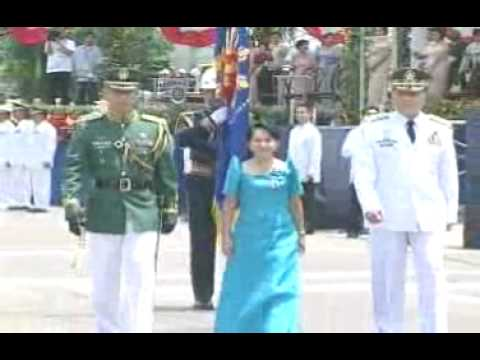 Part 1 2004 Oath-Taking of the Philippine President and Vice President