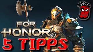 For Honor: 5 Einsteiger Tipps | For Honor Multiplayer Gameplay Guide / Tutorial [German Deutsch]