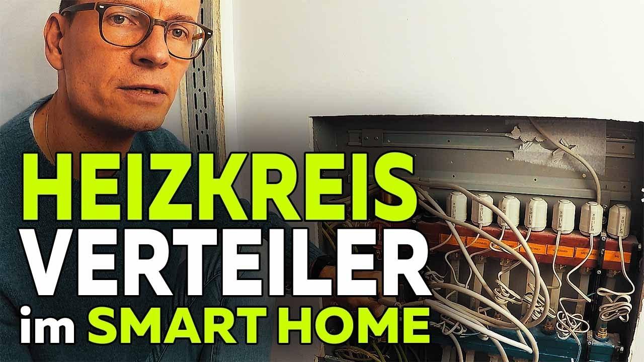 fu bodenheizung steuerung heizkreisverteiler hausbau smartest home folge 33 youtube. Black Bedroom Furniture Sets. Home Design Ideas