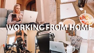 WORKING FROM HOME DAY IN MY LIFE (QUARANTINE & CORPORATE AMERICA)