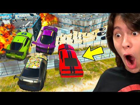 PULAMOS O MURO DA PRISÃO COM SUPER CARROS!! (GTA 5 Dlc Tuners)